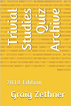 Trivial Studies Quiz Archive: 2018 Edition