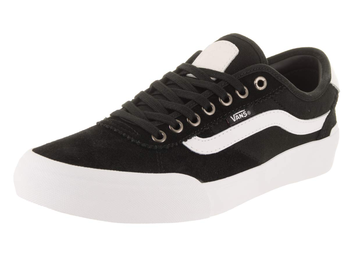 lovely design buy real sale retailer Vans Chima Pro 2 Suede Canvas Black White: Amazon.co.uk ...