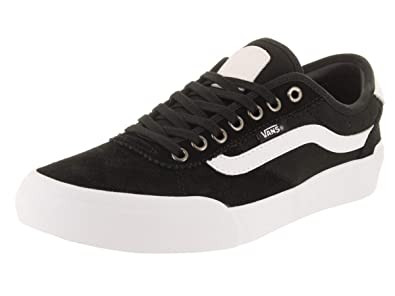 681970324af1 Vans Chima Pro 2 Suede Canvas Black White  Amazon.co.uk  Shoes   Bags