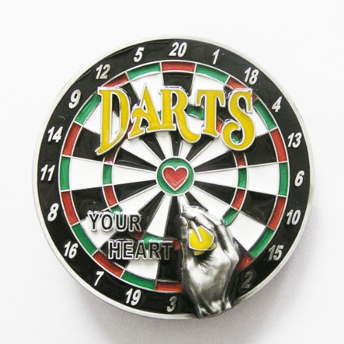 new popular compass darts your heart belt buckle ST002