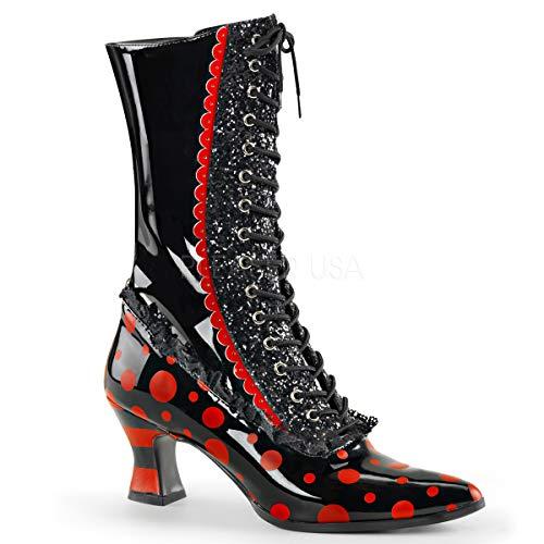 Funtasma Women's Victorian-122 Calf-High Boot]()