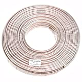 Conext Link PSC10GS-200 Parallel Gold Silver Speaker Cables Full Gauge Oxygen Free Copper Zip Wire (10 Gauge, 200 feet)