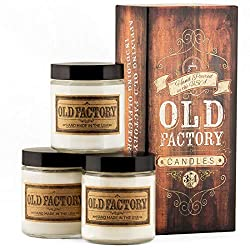 Old Factory Scented Candles - Coffee Shop - Decor