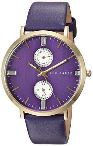 Ted Baker Women's 10024714 Dress Sport Analog Display Japanese Quartz Purple Watch