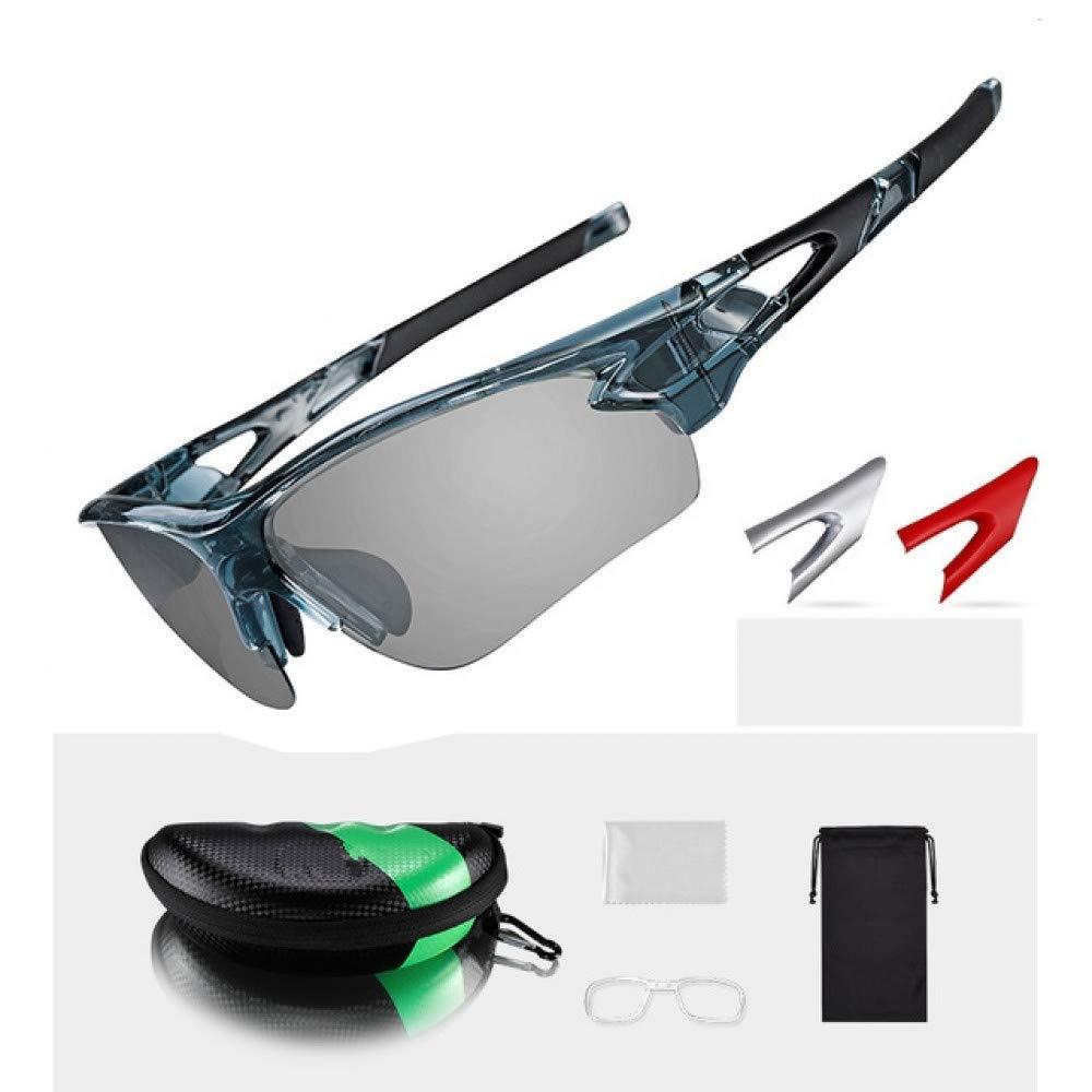 DAYANGE Polarisierte Photochrome Radfahren Brille Bike Brille Outdoor Sports MTB Fahrrad Sonnenbrille Brille Brillen Myopie Rahmen