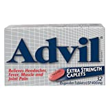 Advil Extra Strength Caplets, Pain reliever / Fever reducer, 32 Ibuprofen Caplets USP 400mg