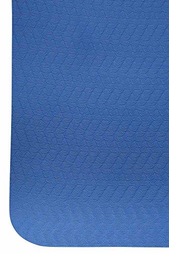 Mountain Warehouse High And Mighty Yoga Mat Azul Talla única Azul