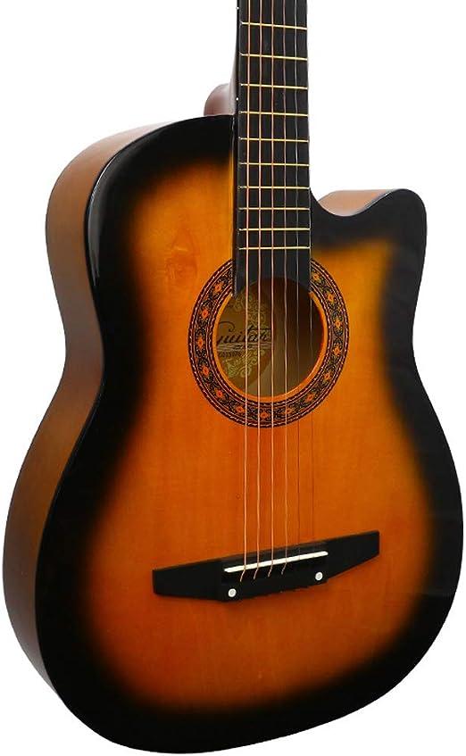Guitarra HuAma Acústica De 38 Pulgadas para Niños Y Niñas En La ...