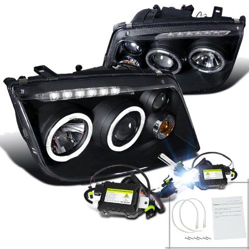 Volkswagen Jetta Black Projector Headlights