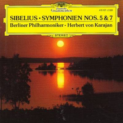 Sibelius: Symphonies Nos. 5 & 7 (Sibelius Symphony 5 Karajan compare prices)