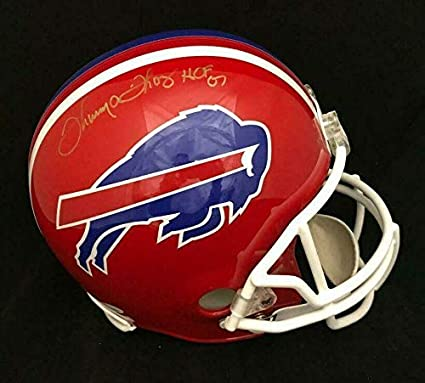 8c42ad822d7 Image Unavailable. Image not available for. Color  Signed Thurman Thomas  Helmet - Full Size Fs Coa - JSA Certified - Autographed NFL Helmets