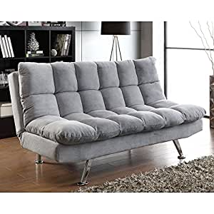 Coaster sofa bed grey kitchen dining for Sofa bed amazon