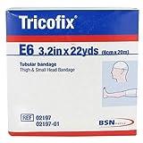 BSN Medical 02197 Tricofix Tubular Bandage E6 3.2'' x 22 Yds