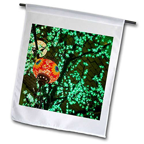 Rotterdam Outdoor Light - 3dRose Danita Delimont - Lamps - Netherlands, Rotterdam. Middle eastern themed lamps and lights - 12 x 18 inch Garden Flag (fl_277787_1)