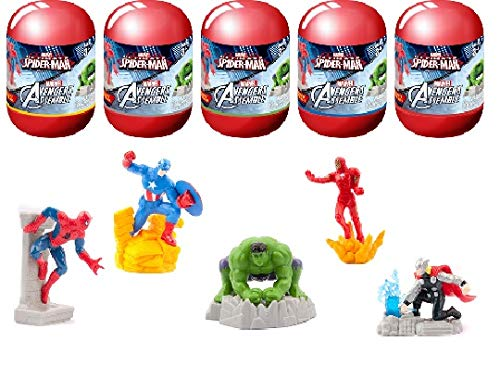 Marvel Avengers Assemble Spiderman Capsule Surprise Toy