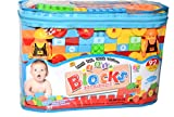 Vibgyor Vibes™ 92 pcs,Multi Color Big Size Building Blocks in Cute Bag- Mind development activity for the little ones