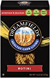 Dreamfields Pasta Healthy Carb Living, Rotini, 13.25-Ounce Boxes (Pack of 12)