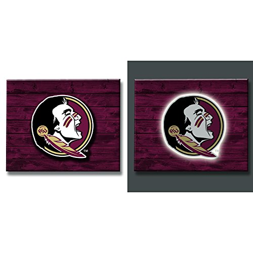 - Team Sports America Florida State University LED Metal Wall Art