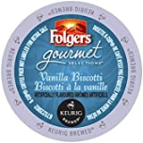 Folgers Vanilla Biscotti (2 Boxes of 24 K-Cups)
