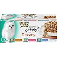 Purina Fancy Feast Medleys Tuscany Wet Cat Food Variety Pack - 85 g (12 Pack)