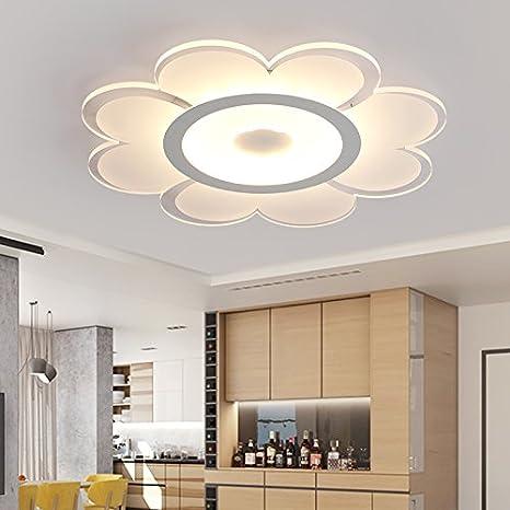 Lámpara de techo RLYYBE moderna y creativa con la luz de ...