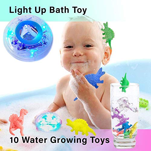 (MorganProducts Light - up Toy Waterproof for Kids Floating Safe for Baby Boys and Girls Toddler Toys Prime Water Gift Boat Pool Fun)
