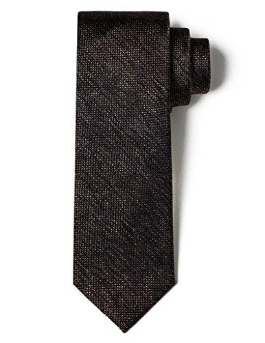 Origin Ties 100% Silk Grenadine Tie Handmade Men's Solid Color 2.5