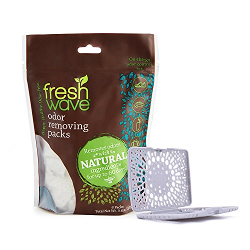 (Fresh Wave Odor Removing Packs + Free Fresh Pod)