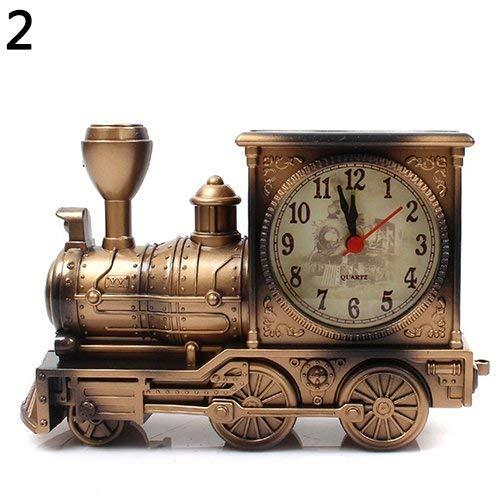 Ogquaton Reloj | Dibujos Animados Locomotora Tren Despertador ...
