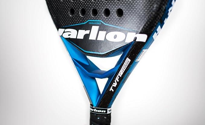 Varlion Avant H Carbon 3 - Pala de pádel, Unisex Adulto, Azul, 375-380 gr.: Amazon.es: Deportes y aire libre