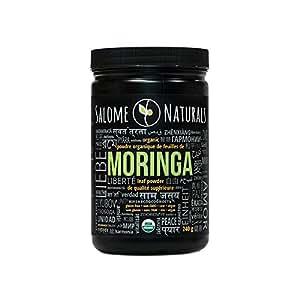 Organic Raw Moringa Leaf Powder, 240g