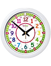 Reloj infantil de pared EasyRead Time Teacher, que indica la hora (digital) en formato de 12 y 24 horas