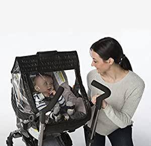 Chicco Childrens Baby Quilted Stroller Car Seat Weather Shield Rain Cover