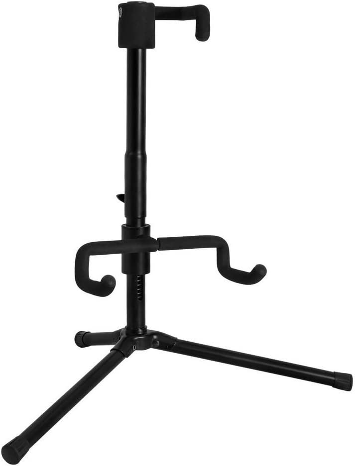 On Stage GS7141 Push-Down Spring-Up Locking Acoustic Guitar Stand