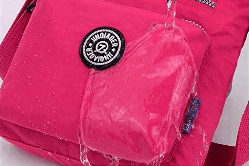 Water Bags Cross Fashion Women Handbags and Shoulder Nylon Bag Messenger Purses amp;Girls for Purple resistant body p1xwIxAX