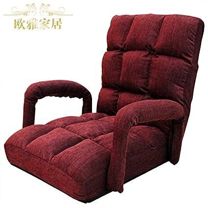 Dngy*persona perezoso sofá-Apoyabrazos sillas plegables ...