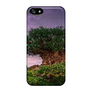 New Premium Flip Big Fat Tree Hdt Skin Case For Iphone 5/5S Cover