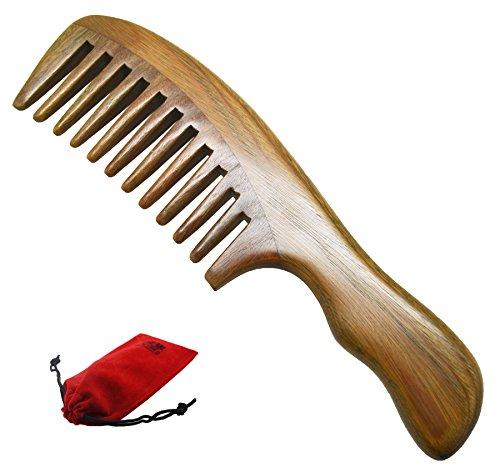 Natural Wooden Comb - 4