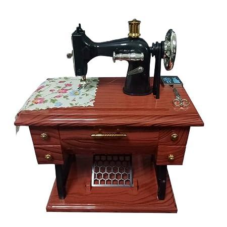 XuBa - Mini máquina de Coser mecánica de Juguete para decoración ...