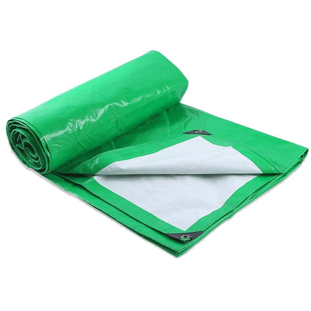 Weiß Grün Gepolsterte Leinwand Regen Tuch Multifunktionale Wasserdichte Sonnencreme Sonnenschutz Truck Plane 180g Pro Quadratmeter
