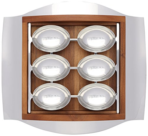 UPC 672275305540, Nambe Wave Seder Plate