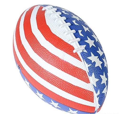 Rhode Island Novelty Patriotic Stars and Stripes American Flag Football (1) ()