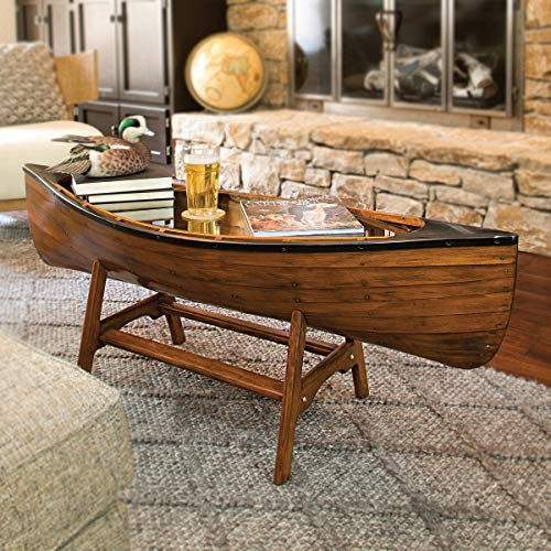 BLACK FOREST DECOR Canoe Lodge Coffee Table