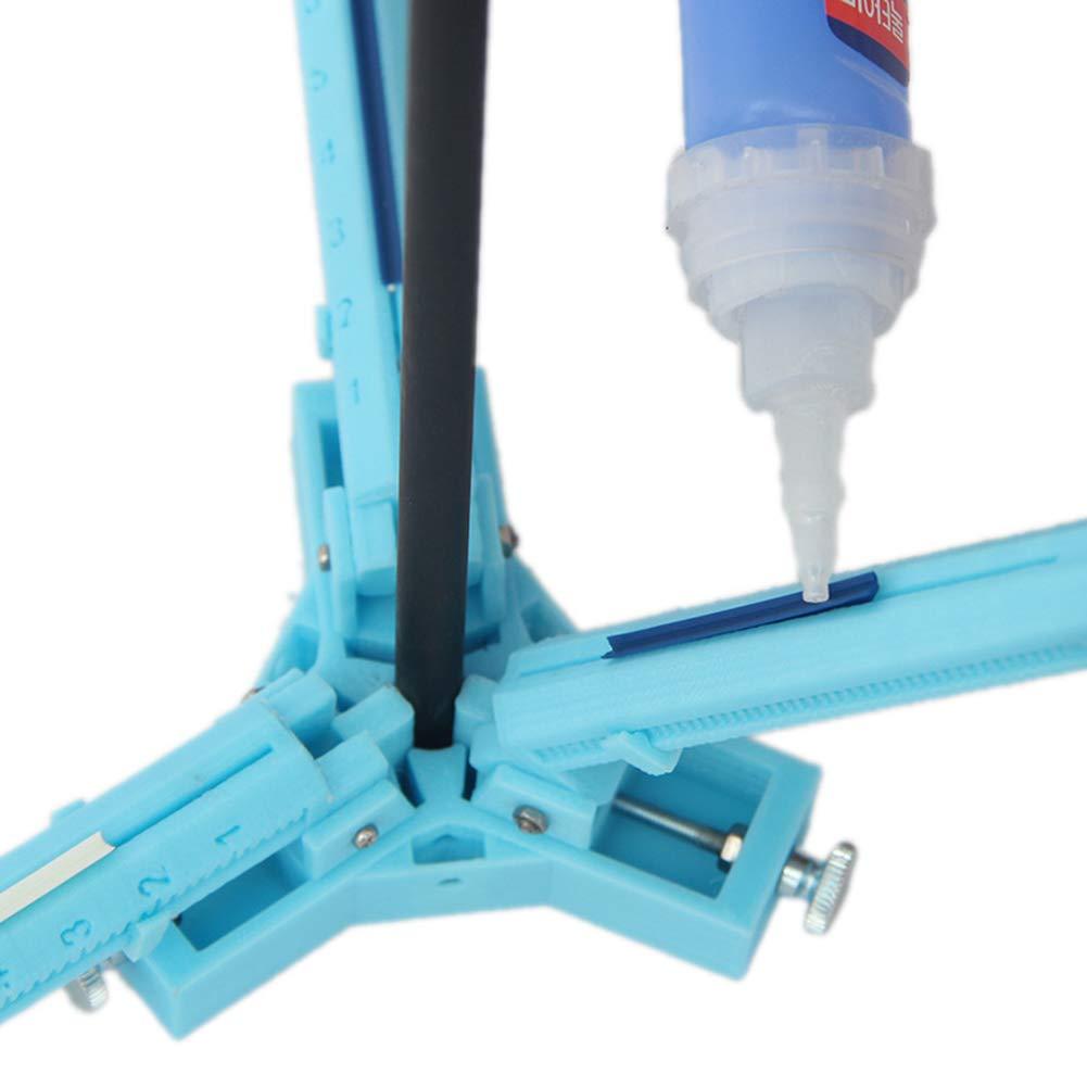 Mallalah Arquer/ía Flecha Fletching Jig Empennage Recurve o Compuesto DIY Plumas Arrow Fletches Collage Pluma Stick Herramienta