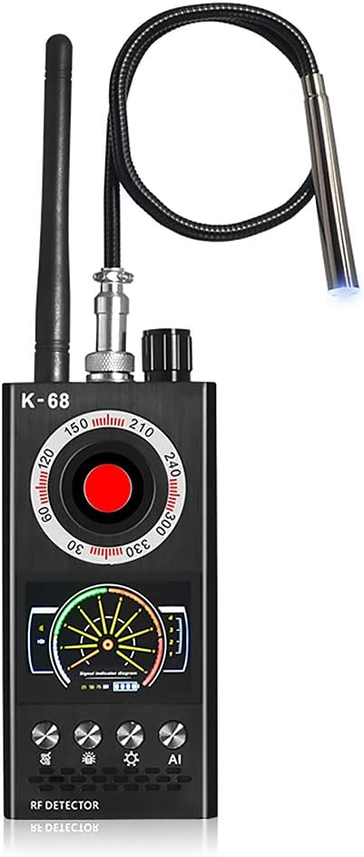 Amazon.com : Anti Spy Detector, Bug Detector, Digital Hidden Camera Finder, Wireless Automatic Anti Spy RF Bug Signal Detector Secret Listening Locator for Hotel Home Car with Rechargeable Baterry : Camera & Photo