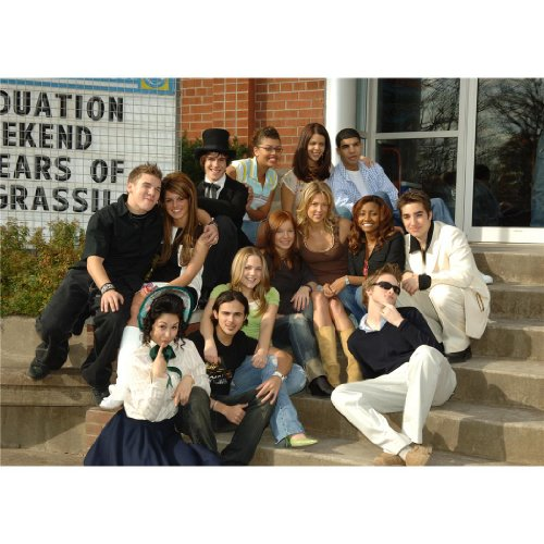 Degrassi The Next Generation Poster by Silk Printing # Size about (84cm x 60cm, 34inch x 24inch) # Unique Gift # 4021C5 -