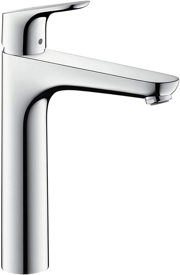 Hansgrohe 31532000 Focus 230 Grifo de lavabo, Cromo, 230 mm ...