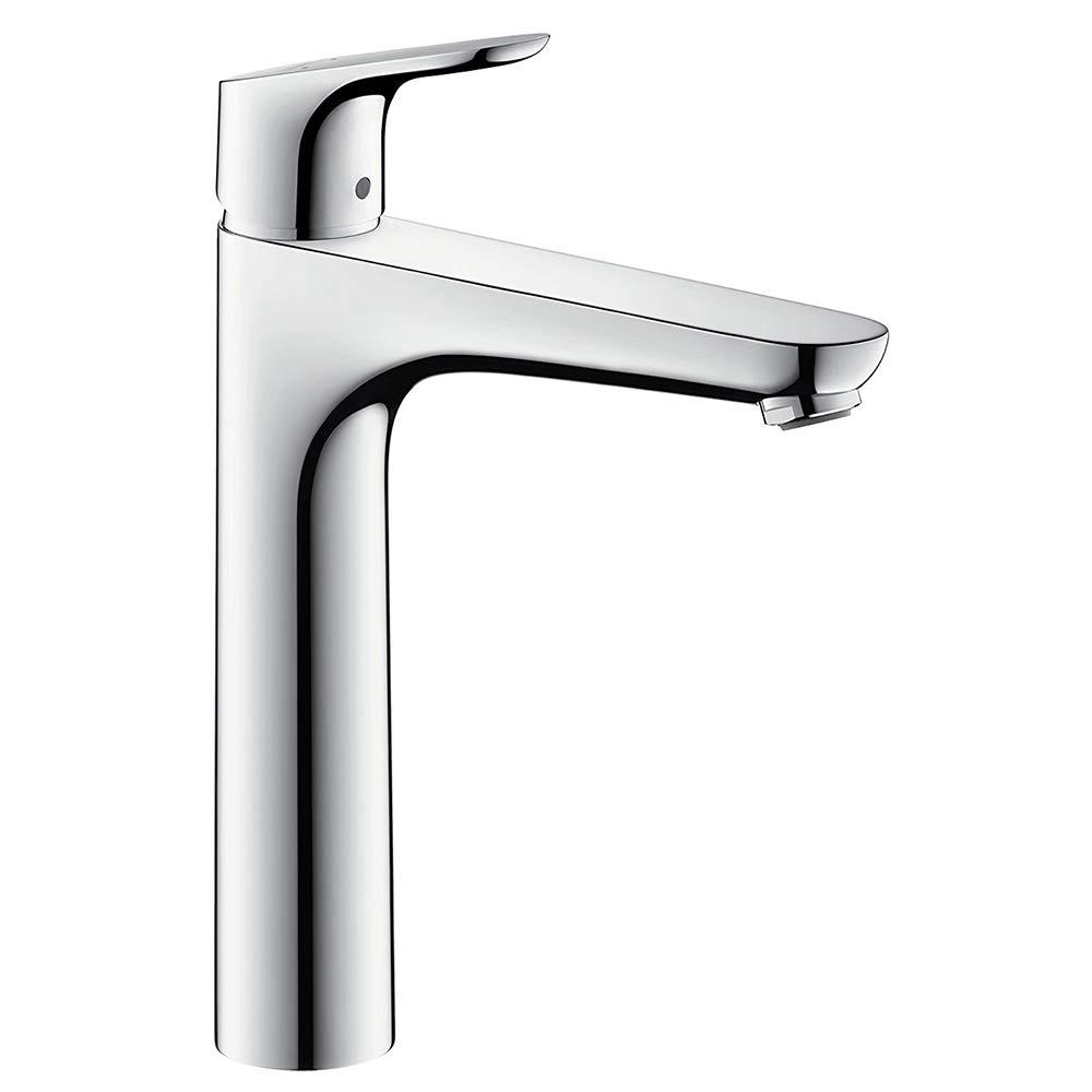 hansgrohe Focus Einhebel-Waschtischmischer (Komfort-Hö he 190mm ohne Ablaufgarnitur) chrom 31518000