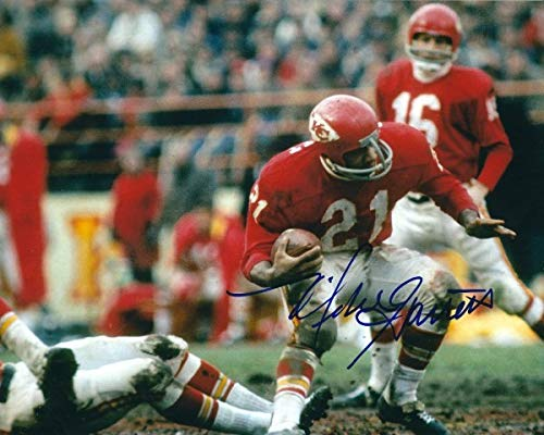Autographed Signed Mike Garrett 8x10 Kansas City Chiefs Photo - Certified Authentic