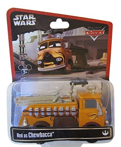 Disney Star Wars Pixar Cars Series 2 Red the Fire Engine as Chewbacca 1/55 Die-Cast - Theme Park Exclusive Limited Edition (Diecast Fire Engine)